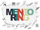 picture of mentoring  - Education concept - JPG