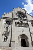 image of rebuilt  - Cathedral of the town of GEMONA in Italy rebuilt after the earthquake - JPG