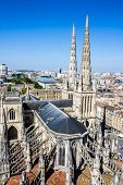foto of bordeaux  - Aerial view of the St - JPG