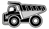image of dump_truck  - Haul truck - JPG