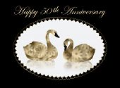 picture of 50th  - Pair of beautiful gold and black  - JPG