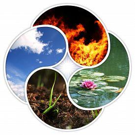 stock photo of yin  - Fire - JPG