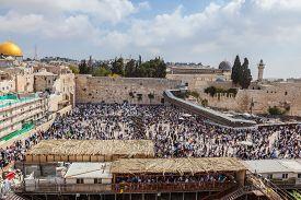 picture of israel people  - Jerusalem - JPG