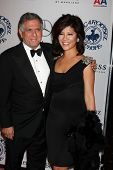 LOS ANGELES - OCT 23:  Les Moonves, Julie Chen arrive at the 2010 Carousel of Hope Ball at Beverly H