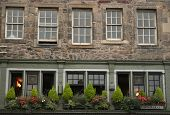 Royal Mile Architecture poster