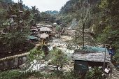 Cat Cat Village, Traditional Village Named Cat Cat Near Sapa. Traditional Way Of Life Of The Small P poster