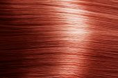 stock photo of hair streaks  - Red Hair Texture - JPG