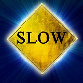 Slow Sign poster