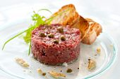 Beef Tartar With Capers
