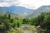 picture of luzon  - River in Cordillera mountains  - JPG