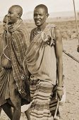 Portrait of young Maasai