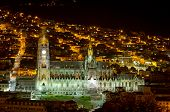 stock photo of grotesque  - Basilica Cathedral of Quito - JPG