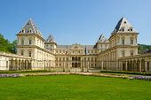 stock photo of torino  - Castello Del Valentino in Turin  - JPG