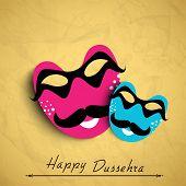 image of dussehra  - Indian festival Happy Dussehra Background - JPG