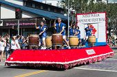 The Parede Car At  73Th Annual Nisei Week Grand Parade