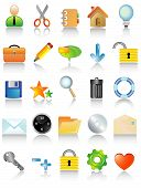 pic of people icon  - Vector illustration of icon set four your design - JPG