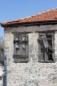 Old housing in Fethiye