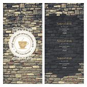 picture of stone house  - Menu for restaurant - JPG