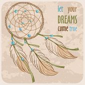 stock photo of dreamcatcher  - Dreamcatcher - JPG