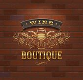 stock photo of boutique  - Wine boutique  - JPG