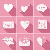 mail love icons
