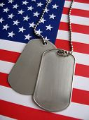 4th July Dog Tags