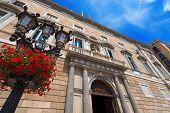 pic of neoclassical  - Palau de la Generalitat de Catalunya  - JPG