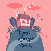 image of home is where your heart is  - Home is where your heart is - JPG