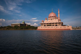 stock photo of prime-minister  - The Putra Mosque - JPG