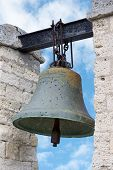 picture of sevastopol  - Bell from Notre Dame de Paris isolated on white - JPG