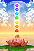 picture of kundalini  - 3D - JPG