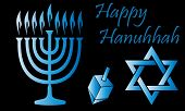 picture of dreidel  - Hanukkah Vector  - JPG