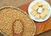 image of soybeans  - Soybean name Glycine max Fabaceae family rich protein acid amin vitamin an orgaric cheap nutrition product to process soymilk soy sauce tofu cooking oil suitable for diet menu - JPG