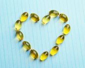 picture of cod  - Heart of cod liver oil - JPG