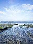 foto of tanah  - Coast near Tanah Lot - JPG