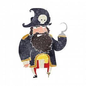pic of peg-leg  - retro cartoon pirate - JPG