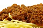 Spaghetti And Meat Sauce poster