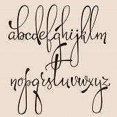 Calligraphy Cursive Font poster