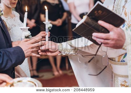 Priest song at wedding