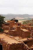 stock photo of dogon  - A village of Dogon tribe in Mali - JPG