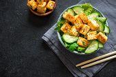 Tofu Cucumber Salad poster