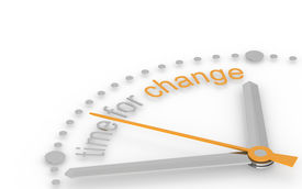 stock photo of change management  - Time for Change - JPG