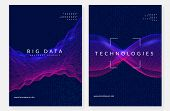 Digital Technology Abstract Background. Artificial Intelligence, Deep Learning And Big Data Concept. poster