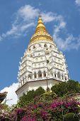 The Seven Tiered Pagoda Of 1000 Buddhas At Kek Lok Si Temple. Penang Island, Penang, Malaysia, South poster