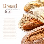 Bread From Rye And Wheat Flour