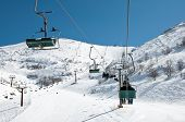 stock photo of israel people  - Mount Hermon - JPG