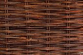 Woven Willow Wicker Background