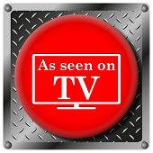 As Seen On Tv Metallic Icon