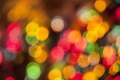 stock photo of diffusion  - Abstract Festive Lights Background - JPG