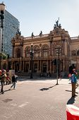 Municipal theater of Sao Paulo